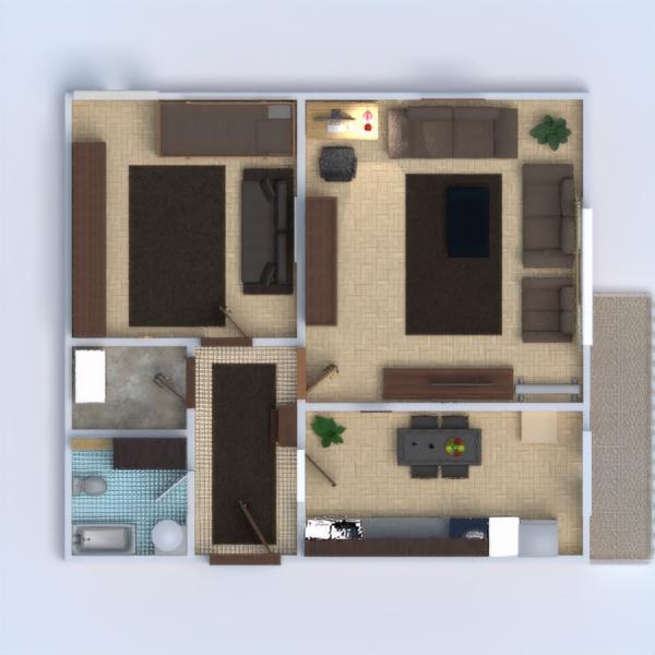 floorplans квартира терраса мебель декор ванная спальня гостиная кухня освещение техника для дома столовая архитектура 3d