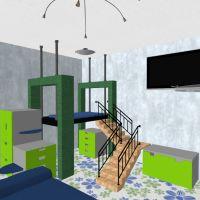 floorplans apartment house furniture decor diy kids room lighting household storage 3d