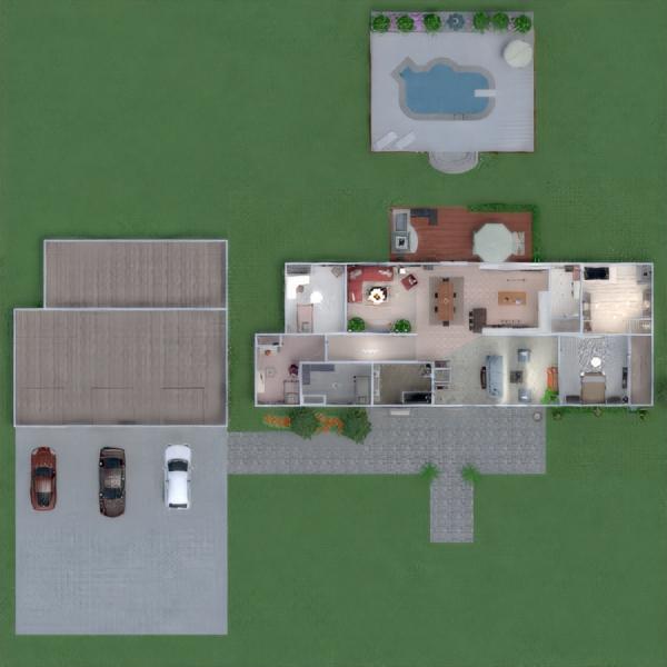 floorplans casa muebles decoración dormitorio cocina 3d