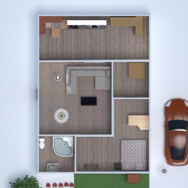 floorplans dom taras meble wystrój wnętrz zrób to sam 3d