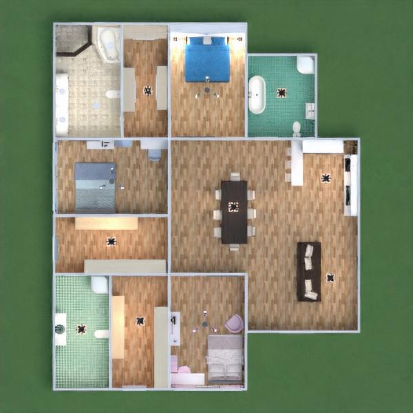 floorplans apartamento casa muebles decoración bricolaje cuarto de baño dormitorio salón cocina habitación infantil despacho iluminación hogar comedor arquitectura 3d