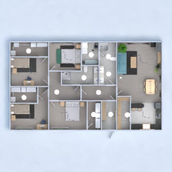 floorplans casa muebles iluminación hogar 3d