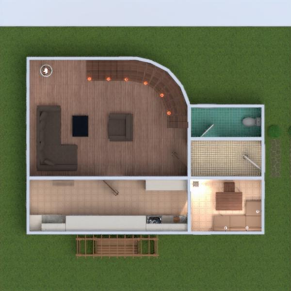 floorplans namas baldai dekoras vonia svetainė virtuvė apšvietimas аrchitektūra 3d