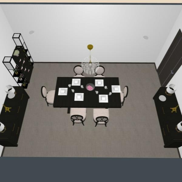 progetti sala pranzo 3d