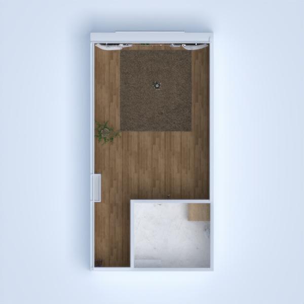 floorplans appartement salle de bains chambre à coucher cuisine studio 3d