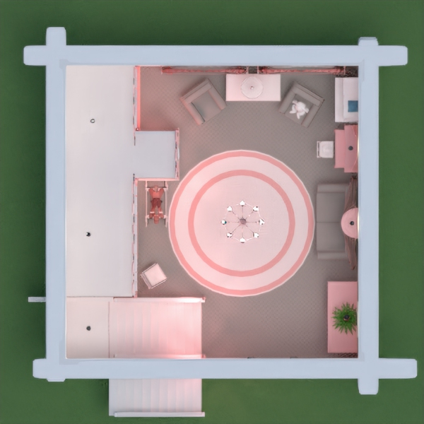 floorplans living room kids room 3d