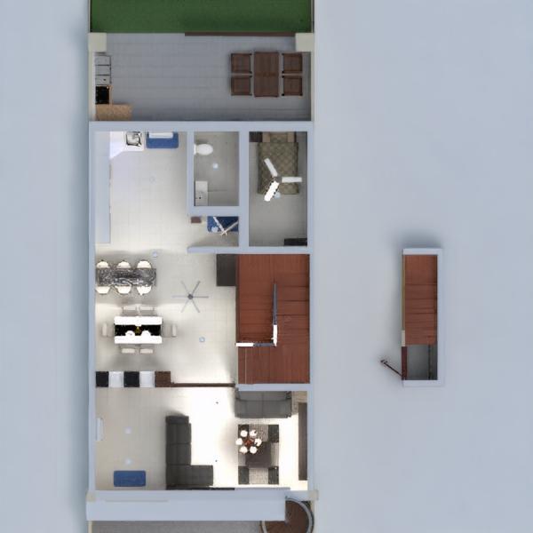 floorplans haus terrasse mobiliar wohnzimmer beleuchtung 3d