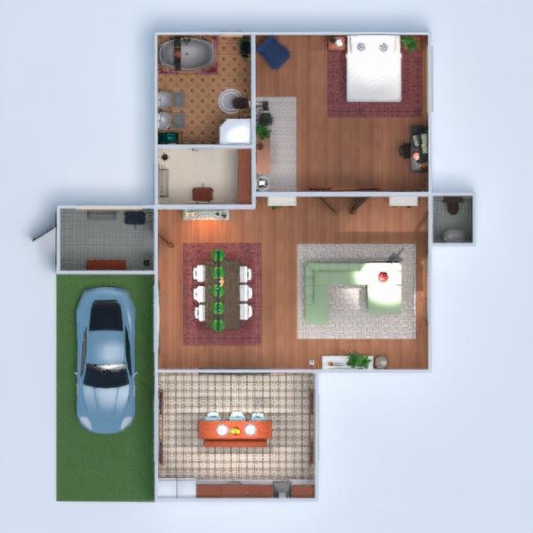 floorplans дом мебель декор ванная спальня гостиная кухня техника для дома столовая прихожая 3d
