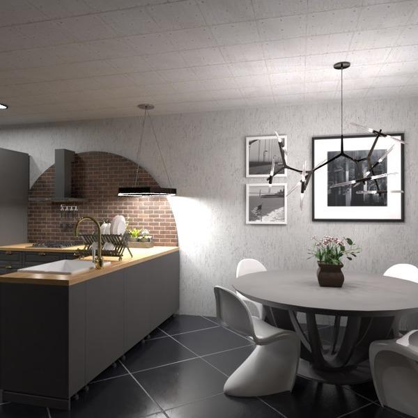 floorplans cuisine eclairage 3d