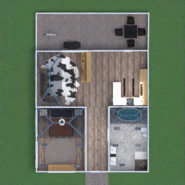 floorplans casa varanda inferior 3d