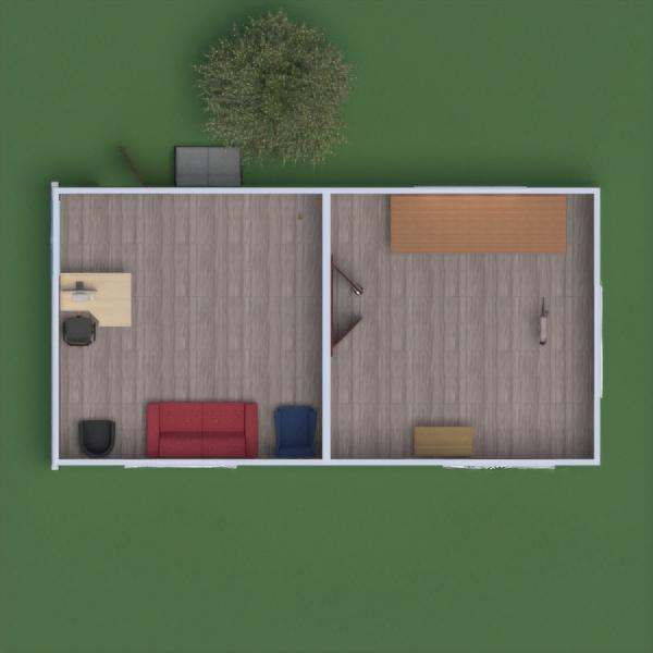 floorplans despacho paisaje arquitectura 3d