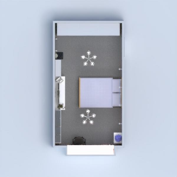 floorplans meble sypialnia pokój diecięcy przechowywanie 3d