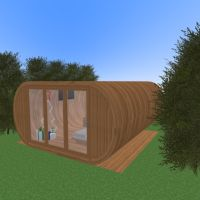 floorplans apartamento casa cuarto de baño dormitorio salón cocina exterior 3d