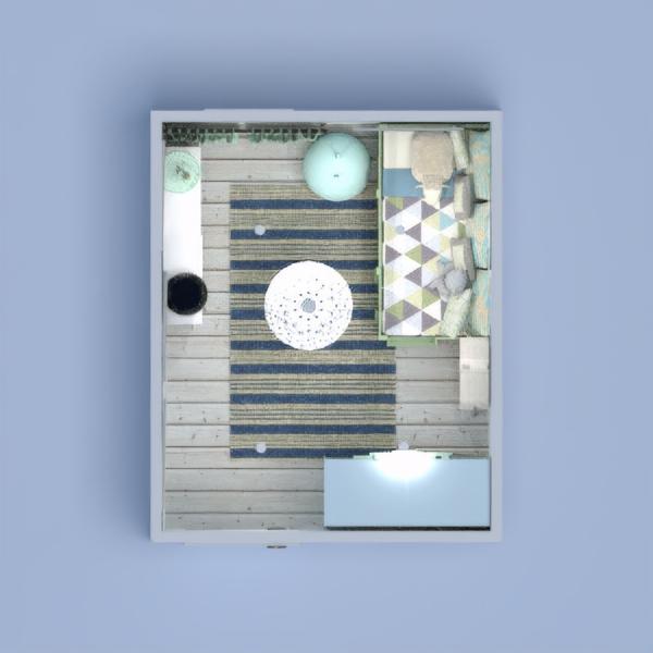 floorplans meble wystrój wnętrz sypialnia pokój diecięcy oświetlenie 3d