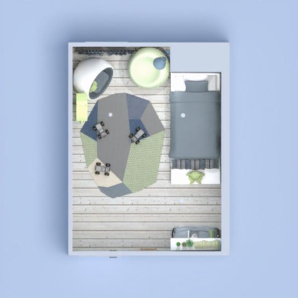 floorplans meble wystrój wnętrz pokój diecięcy oświetlenie 3d