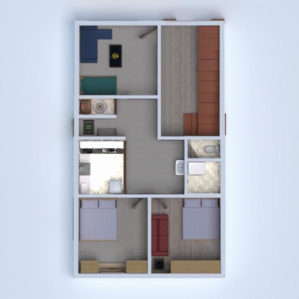floorplans appartamento casa arredamento decorazioni angolo fai-da-te 3d