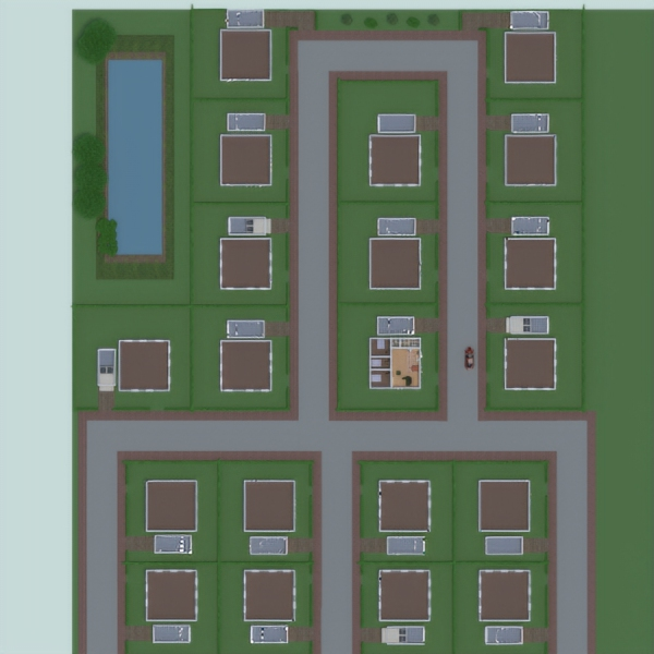 floorplans дом гараж ландшафтный дизайн 3d