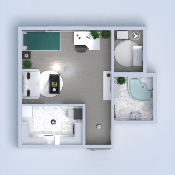 floorplans wohnung mobiliar dekor 3d