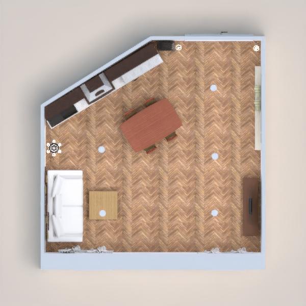 planos cocina comedor 3d