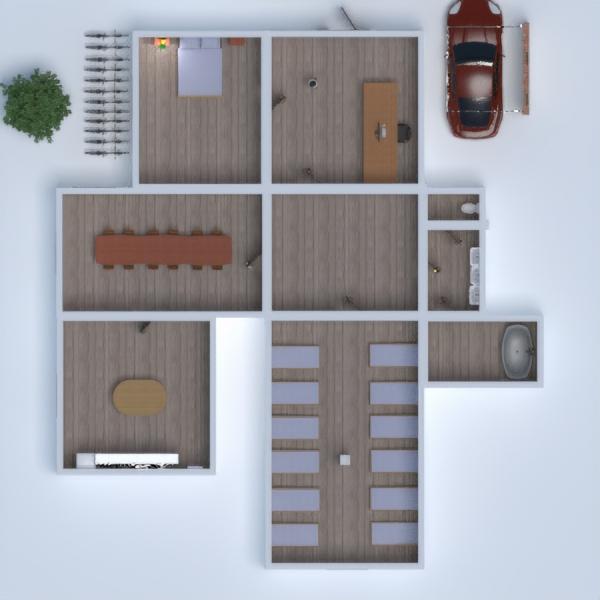 floorplans casa garage cameretta studio vano scale 3d