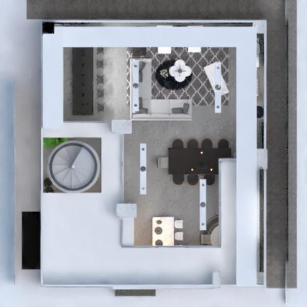 floorplans wohnung haus mobiliar dekor wohnzimmer küche beleuchtung haushalt esszimmer architektur lagerraum, abstellraum studio 3d