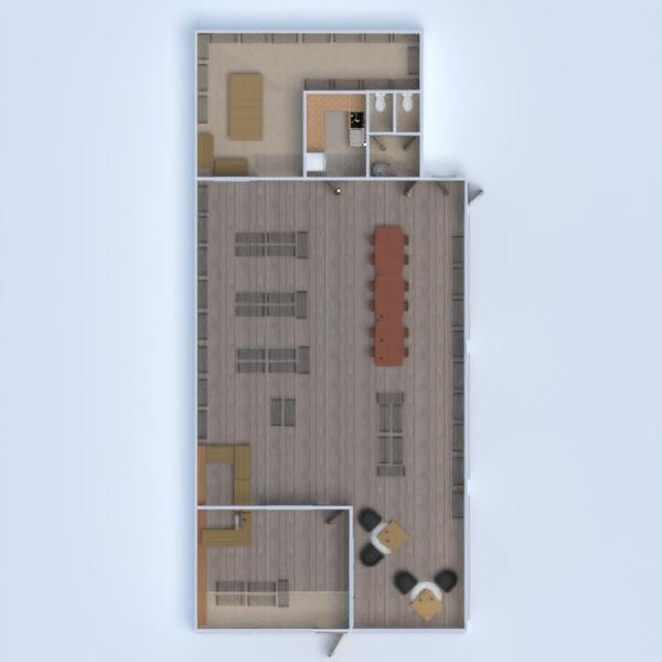 floorplans office cafe 3d