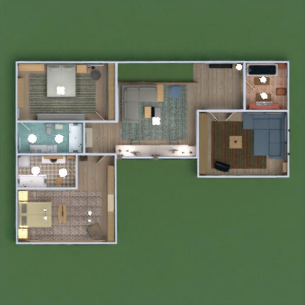 floorplans casa muebles decoración bricolaje cuarto de baño dormitorio salón garaje cocina exterior habitación infantil despacho iluminación paisaje hogar comedor arquitectura estudio descansillo 3d