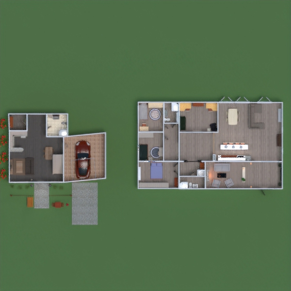 floorplans house bedroom kitchen architecture entryway 3d