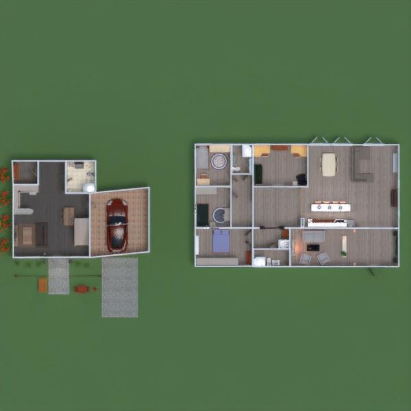 floorplans house bedroom kitchen architecture entryway 3d