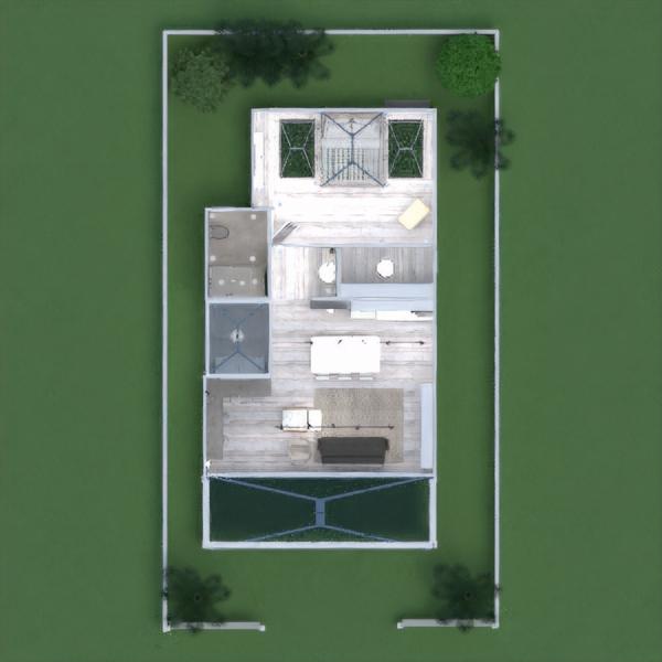 floorplans namas baldai dekoras vonia miegamasis svetainė virtuvė apšvietimas аrchitektūra sandėliukas prieškambaris 3d