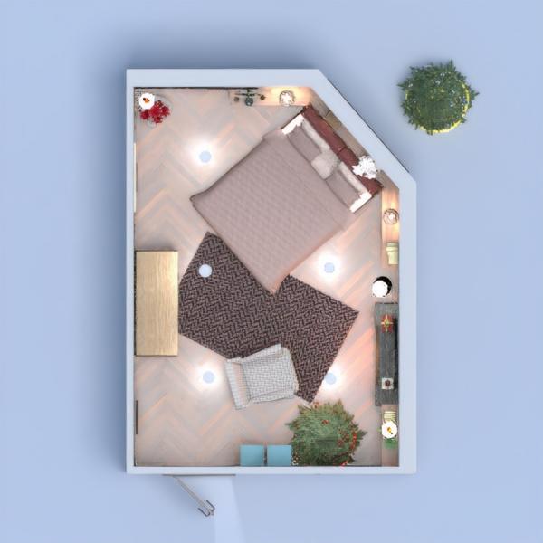 floorplans furniture decor bedroom lighting studio 3d