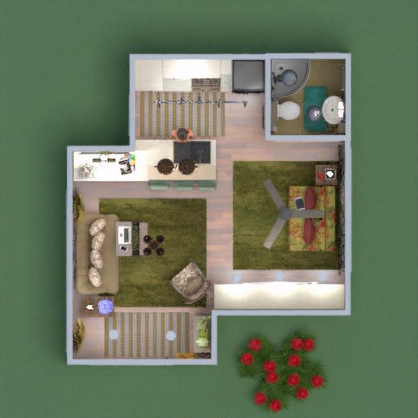 floorplans casa decoración cocina 3d