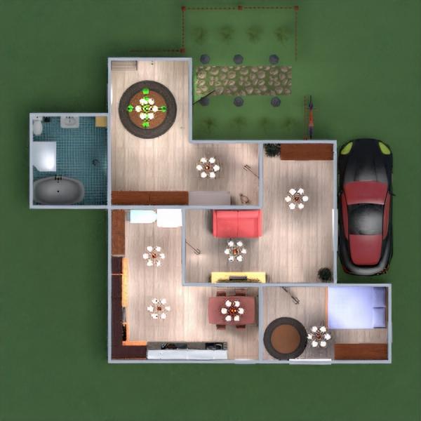floorplans maison meubles diy salle de bains chambre à coucher salon cuisine 3d