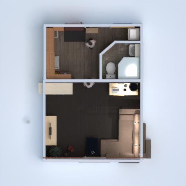 floorplans apartamento muebles bricolaje cuarto de baño dormitorio salón cocina reforma hogar estudio descansillo 3d