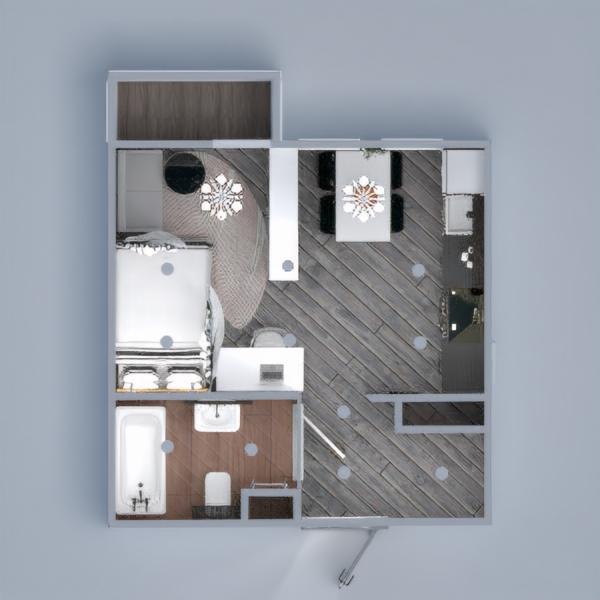 floorplans apartment house studio 3d