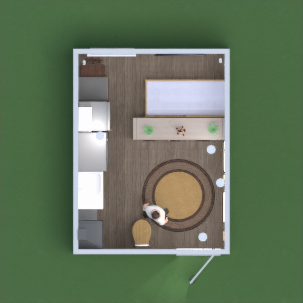 floorplans bagno camera da letto saggiorno studio monolocale 3d