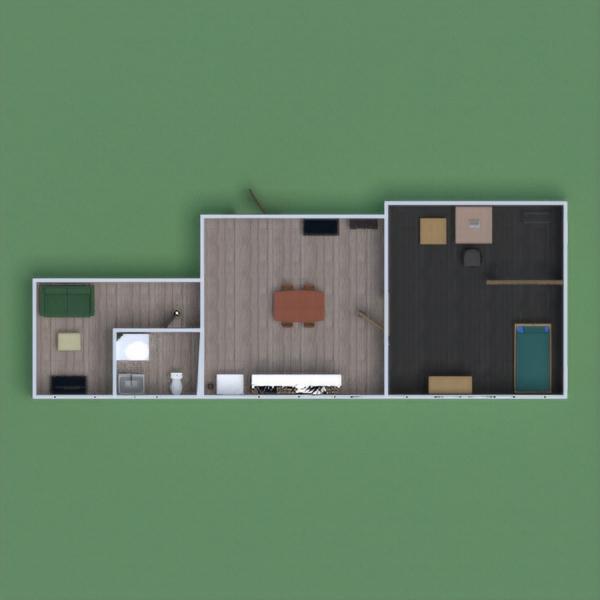 floorplans mobílias decoração casa de banho dormitório utensílios domésticos 3d