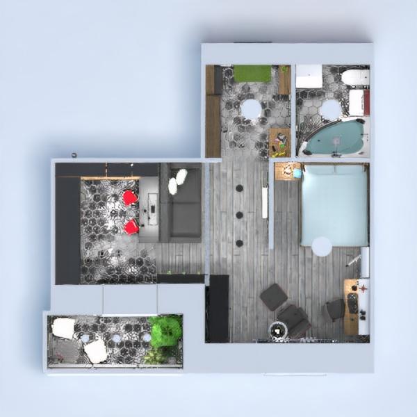 floorplans apartamento mobílias decoração reforma estúdio 3d