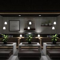 floorplans angolo fai-da-te cucina caffetteria sala pranzo vano scale 3d