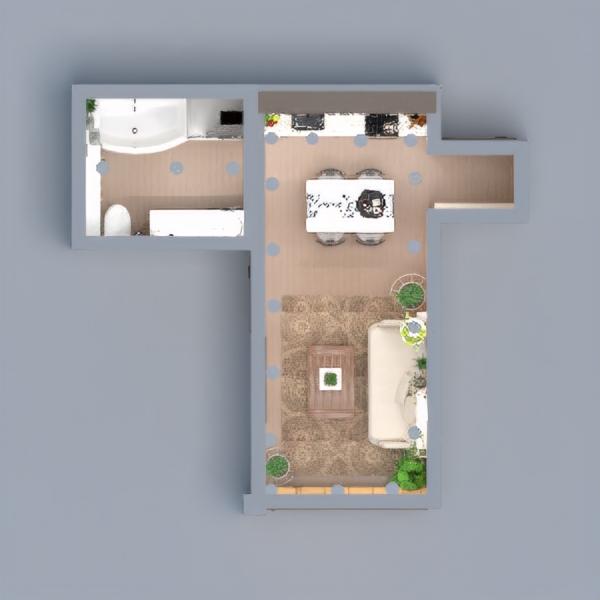 floorplans appartamento casa decorazioni angolo fai-da-te illuminazione 3d