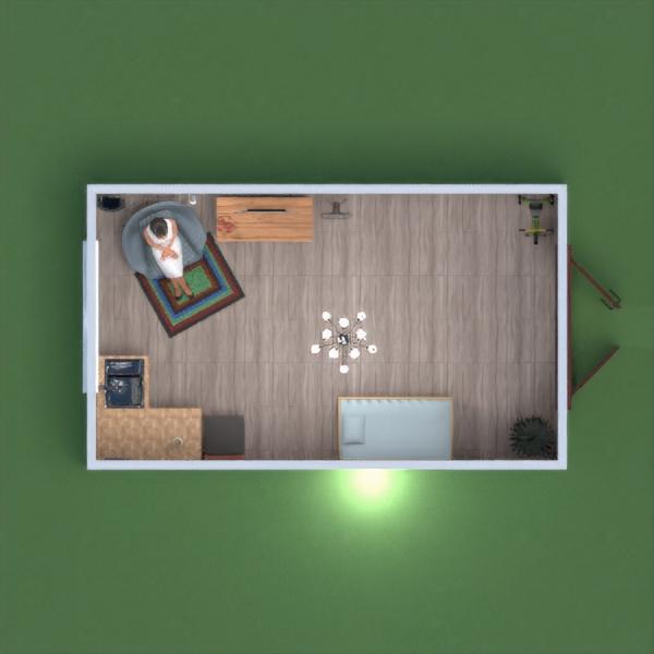 floorplans dom wystrój wnętrz oświetlenie przechowywanie 3d