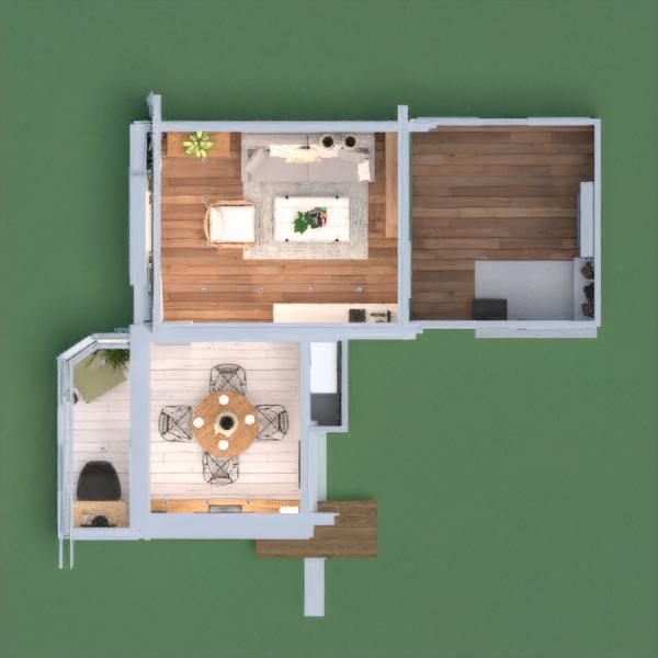 floorplans apartamento muebles decoración bricolaje salón cocina iluminación reforma comedor trastero estudio descansillo 3d