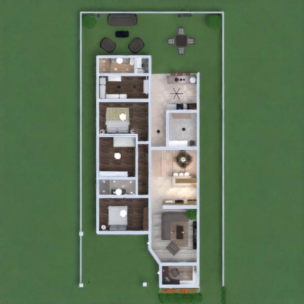 floorplans namas vonia svetainė garažas virtuvė biuras apšvietimas аrchitektūra prieškambaris 3d