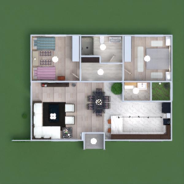 floorplans haus dekor landschaft architektur 3d