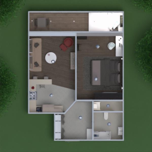 floorplans apartamento casa varanda inferior mobílias decoração faça você mesmo casa de banho dormitório quarto cozinha área externa escritório iluminação paisagismo utensílios domésticos sala de jantar arquitetura 3d