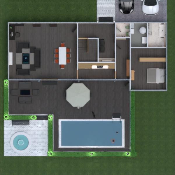 floorplans appartamento casa veranda arredamento decorazioni bagno camera da letto saggiorno cucina esterno cameretta sala pranzo architettura vano scale 3d