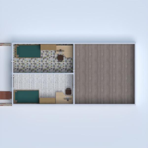 floorplans casa arredamento garage illuminazione ripostiglio 3d