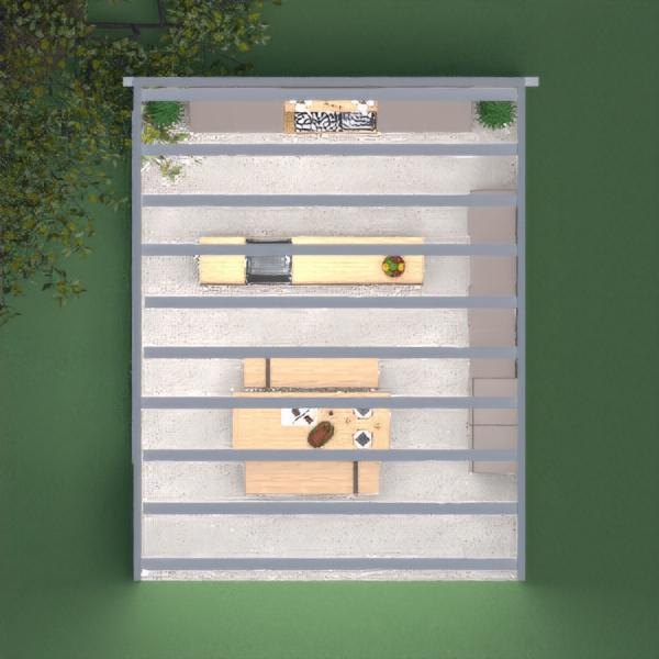 floorplans meubles décoration cuisine extérieur salle à manger 3d