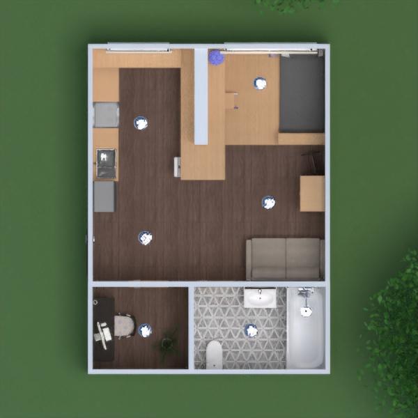 floorplans butas namas baldai dekoras pasidaryk pats vonia miegamasis svetainė virtuvė apšvietimas kraštovaizdis namų apyvoka valgomasis аrchitektūra 3d