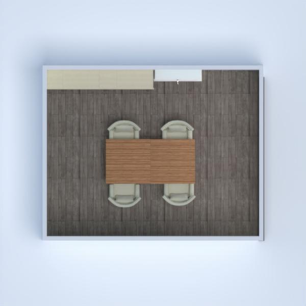floorplans salle à manger 3d